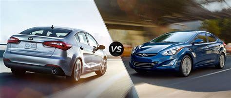 Kia Forte Vs Kia 2014 Kia Forte Vs 2014 Hyundai Elantra
