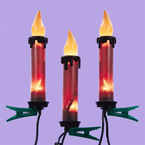 candle flame christmas lights flicker flame and candle christmas lights
