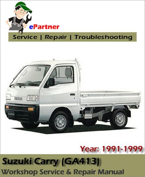 Suzuki Carry Manual Suzuki Carry Service Repair Manual 1991 1999 Automotive