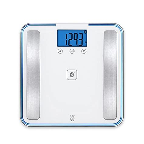weight watchers 174 by conair body analysis bluetooth