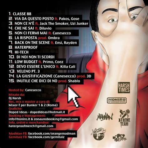 testo haterproof gemitaiz madman haterproof tracklist hip hop rec