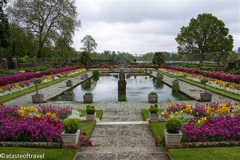 kensington garden inside kensington palace a taste of travel