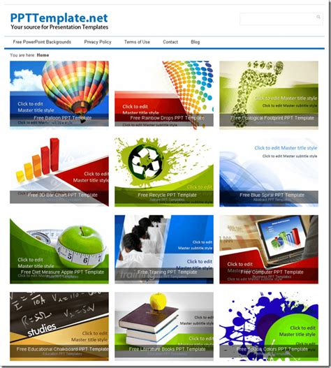 best free 5 best free powerpoint presentation template websites for you