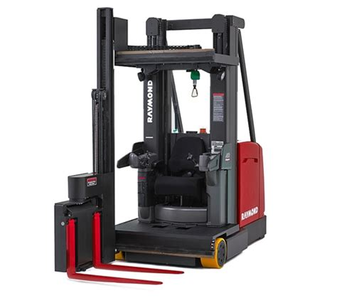 swing reach raymond forklift trucks lift truck fleet and warehouse