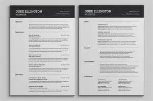 2 page resume sles two pages classic resume cv template resume templates on