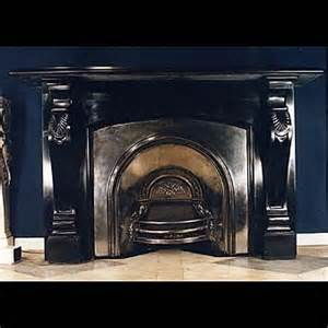 the batman antique black marble fireplace mantel