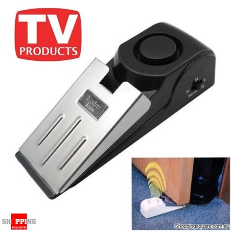 safety wedge and security door stop easy alarm for travel