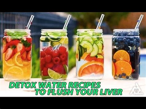 Healthy Food House Detox Water by Detox Water Recipes To Flush Your Liver Best Health And