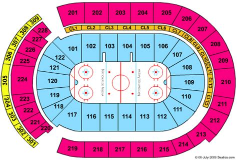 nationwide blue jackets seating chart cheap nationwide arena tickets
