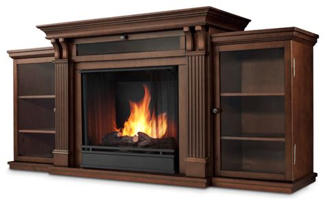 espresso electric fireplace entertainment - Entertainment Wall Units With Electric Fireplace