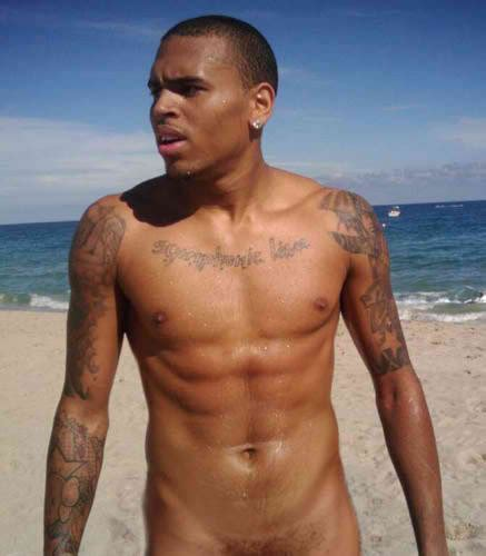 chris brown tattoo chris brown tattoos