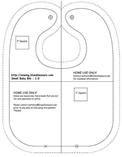 Free Pattern Adult Bibs Printable | free printable baby bib patterns adult bibs free