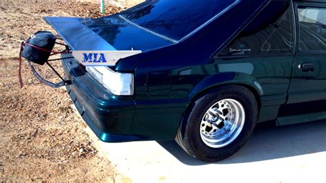 mustang aluminum wing for sale 79 93 aluminum wing ford mustang forums