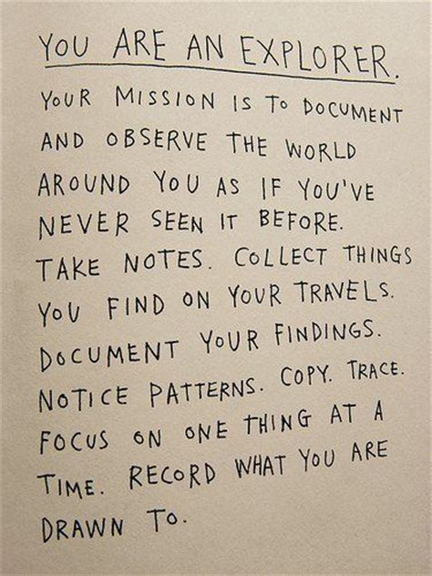 an exploration in following term missions and saying yes to jesus books you are an explorer quot your mission is to document and