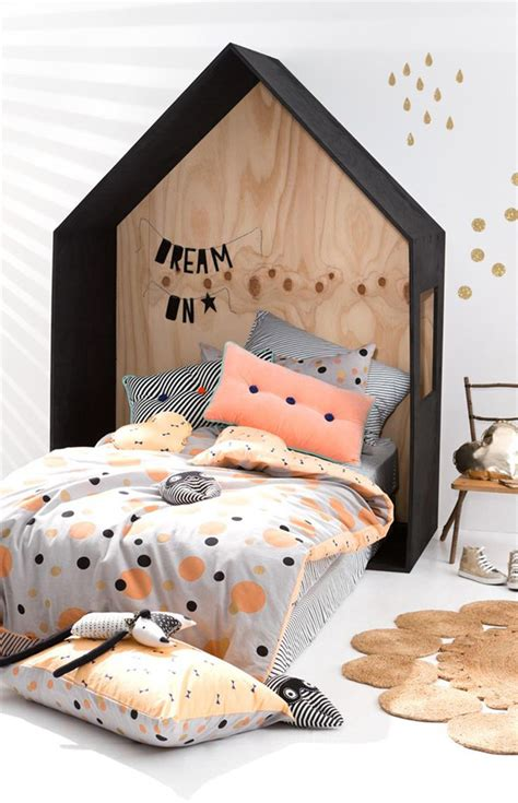 modern teepee kids bedroom