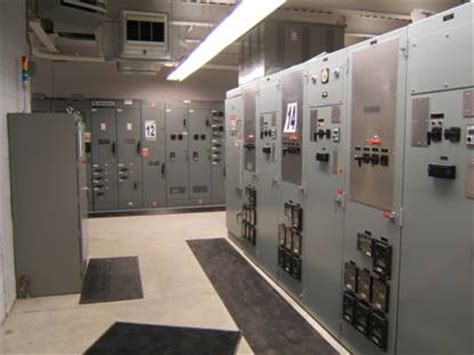electrical plant room energy efficient automation helps generate electricity from landfill