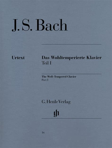Js Bach Well Temperd Clavier Vol1 Alfred Ed bach j s well tempered clavier bwv 846 869 vol 1