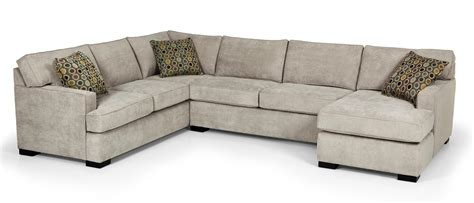 Sectional Sofa W Chaise Stanton 146 Contemporary Four Sectional Sofa W Laf Chaise Rife S Home Furniture