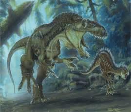 todd marshall megalosaurus dinosaur painting planet