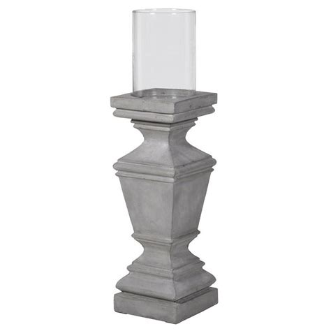 Large Candle Pedestal by Large Pedestal Hurricane Candle Holder Mulberry Moon