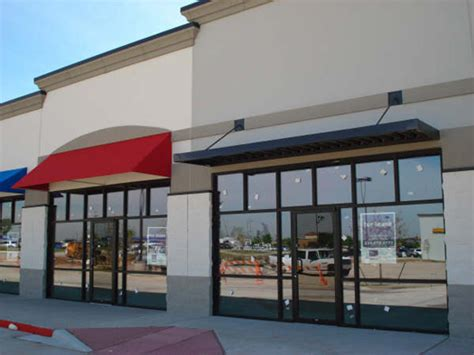commercial metal awning awnings dallas fort worth commercial metal