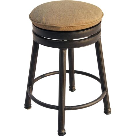 Furniture. Captivating Backless Swivel Bar Stools For Home