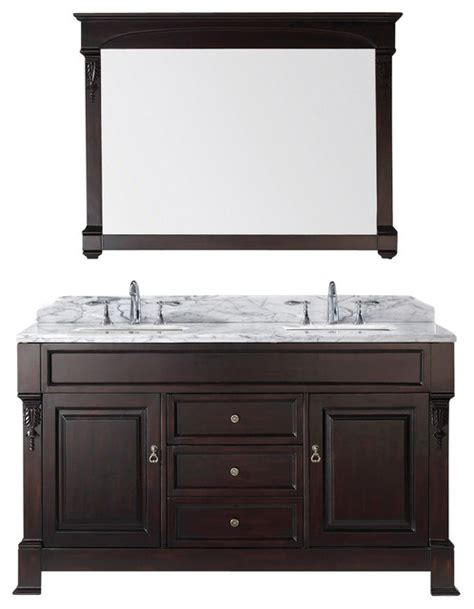 dark walnut bathroom cabinet huntshire 60 quot double bathroom vanity cabinet dark walnut