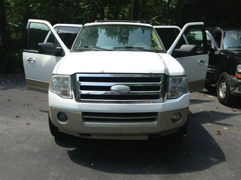 Expedition E6381 Gold White For purchase used el eddie bauer two tone white gold ext two tone brown leather interior in