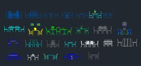 Desk Chair Elevation Cad Block Cad Table Elevation Autocad Drawing Autocad Dwg And