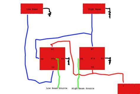 united pacific headlights wiring diagram international