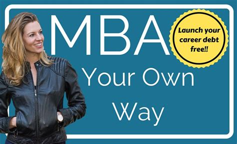 How To Get My Mba Paid For by Get Discount Code Mba Your Own Way