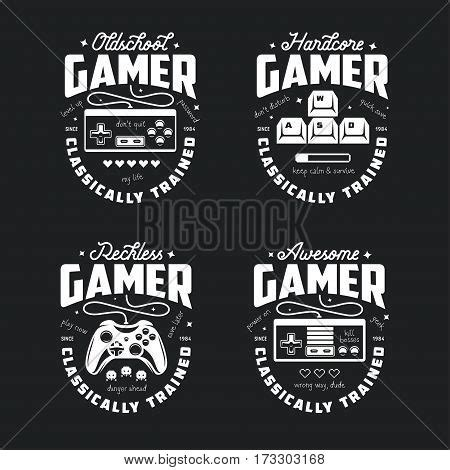 Videogame Retro Vintage Joystick T Shirt Retro Related T Shirt Vector Photo Bigstock