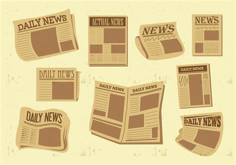 Newspaper Paper Print 183 Free Vector Graphic On Pixabay Newspaper Vector Free Vector Stock Graphics Images