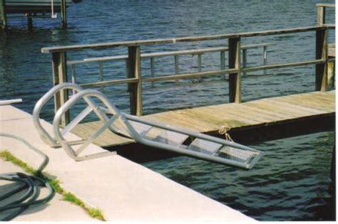 Handrail Support Brackets Dock Ladders 4 Step Aluminum Dock Ladders Aqua Stairs