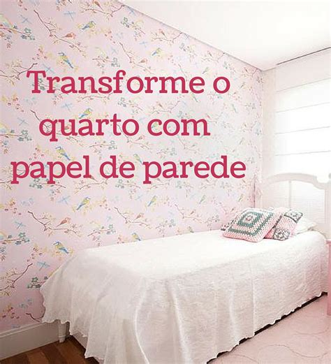 decorar quarto infantil 38 quartos infantis feminino papel de parede