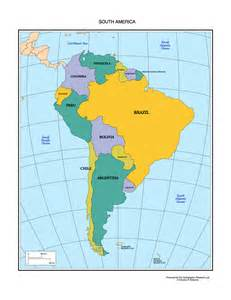 america south america map quiz
