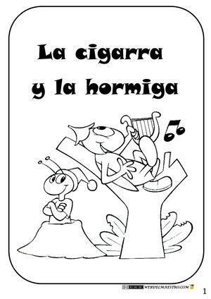 la cigarra y la 8484834344 calam 233 o moraleja la cigarra y la hormiga