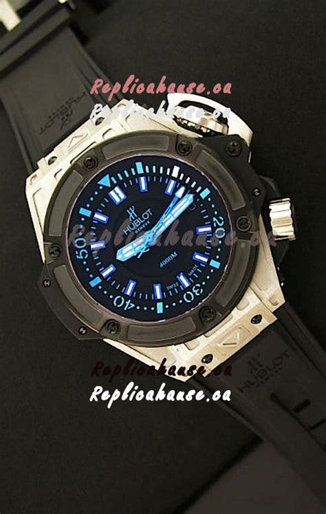 Hublot Swiss Clone hublot king power diver 4000m swiss replica shipping from canada for just 299 usd
