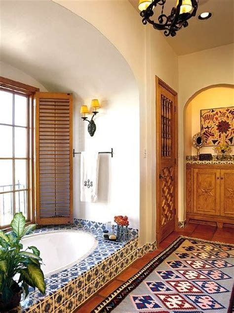 bathroom decor mexican tiles home