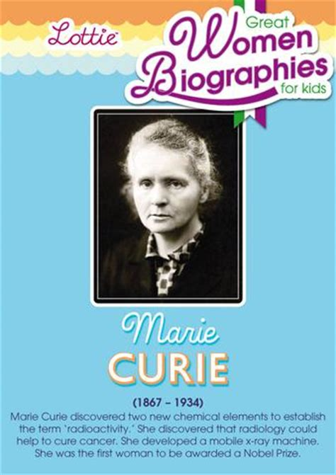 marie curie biography for students marie curie biography for kids lottie dolls