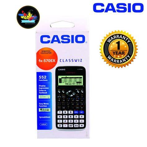 casio scientific calculator fx  classwiz