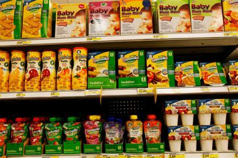 Foods With Shelf by Baby Foods Are Going Upscale Times Union