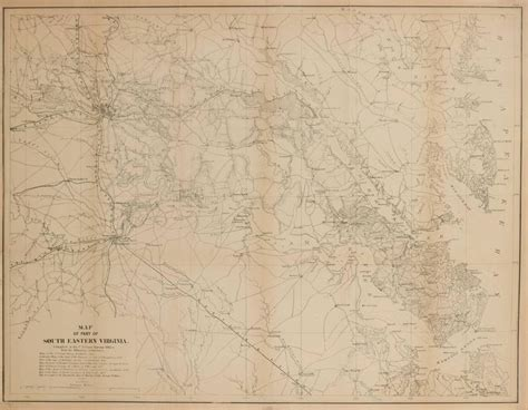 civil war maps for sale unknown civil war map of part of south eastern