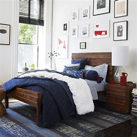 west elm bedrooms west elm navy bedding decorating ideas pinterest
