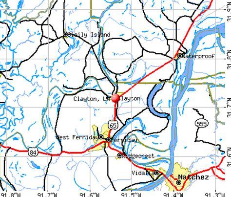 louisiana real estate map clayton louisiana la 71326 71334 profile population