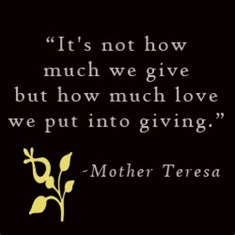 mother teresa quotes  charity quotesgram