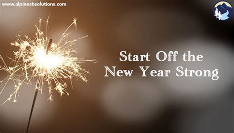 what date does the new year begin start the new year strong