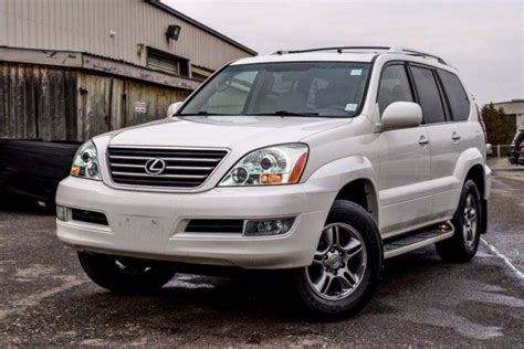 2009 lexus gx 470 4x4 7 seater navi sunroof dvd bluetooth