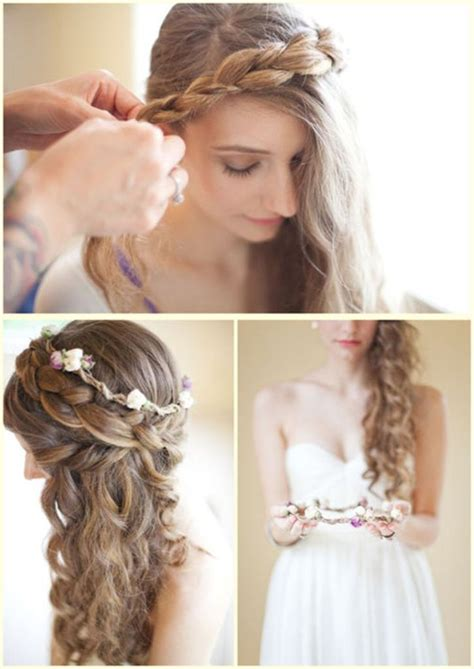 Wedding Hairstyles For Curly Hair by Random Photos Wedding Hairstyles Hairstyles For