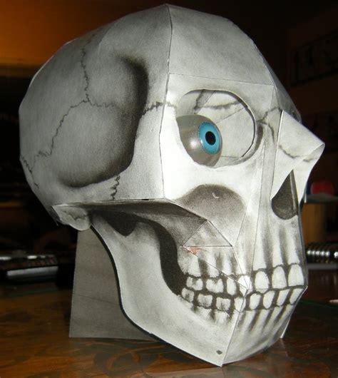 Paper Craft Skull - image gallery papercraft skull